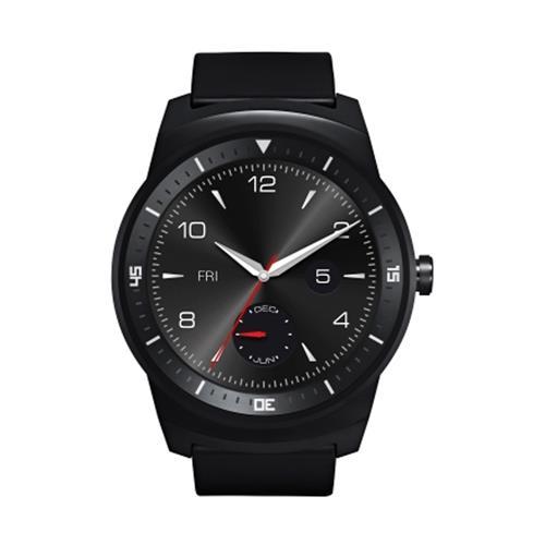 """Smartwatch LG G Watch R W110 Preto 1.3"""" 4GB , Bluetooth, Comando de Voz e Monitor Cardíaco"""