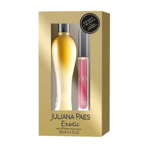 Coffret Juliana Paes Exotic Feminino - Eau de Toilette 60 ml + Gloss