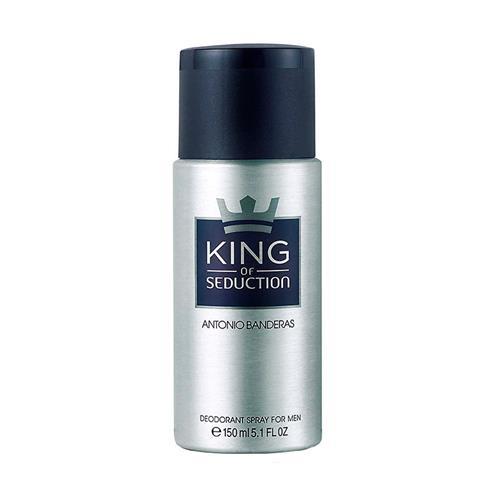 Desodorante Antonio Banderas King Of Seduction Masculino - 150 ml