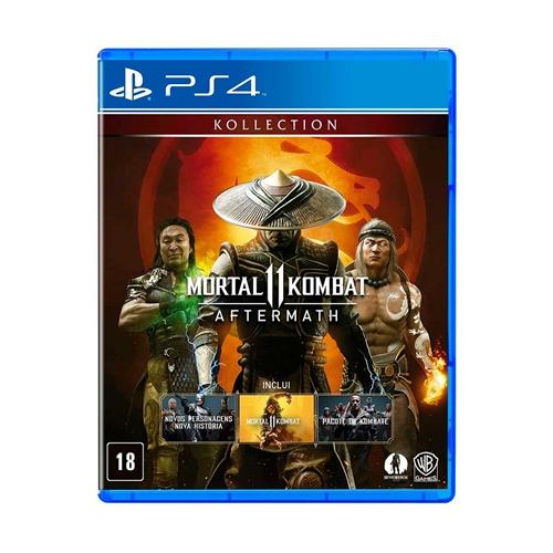 Jogo Mortal Kombat 11 - Aftermath - Playstation 4 - Warner Bros Interactive Entertainment