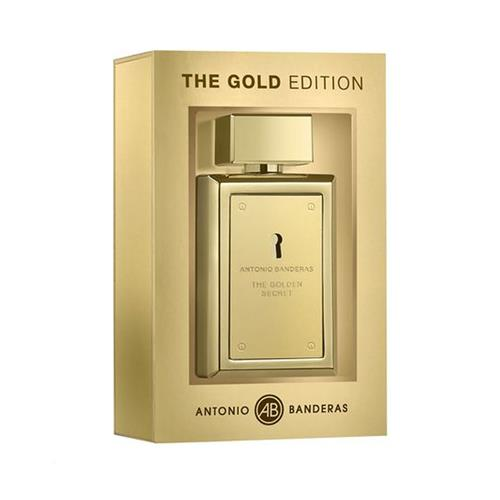 Perfume Antonio Banderas The Golden Collector Secret Eau de Toilette Masculino - 100 ml