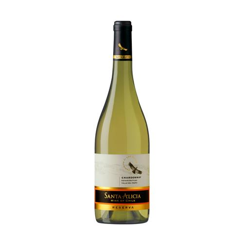 Vinho Branco Santa Alicia Reserva Chardonnay Chile 2013 750 ml
