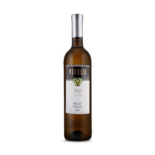 Vinho Branco Vidussi Collio Pinot Grigio Itália 2013 750 ml