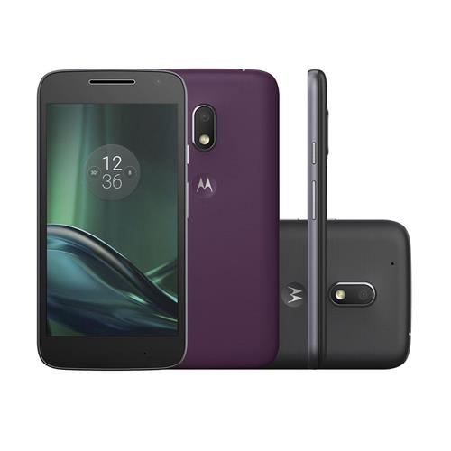 """Smartphone Motorola Moto G4 Play DTV com Dual Chip, Tela de 5"""", 4G, 16GB, Câmera 8MP + Frontal 5MP e Android 6.0"""