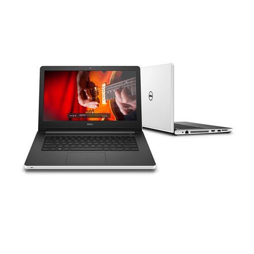 """Notebook Dell Inspiron Branco 14"""", 4GB, 1TB, Windows 10 Pro e Intel Core i5 I14-5458-B35"""