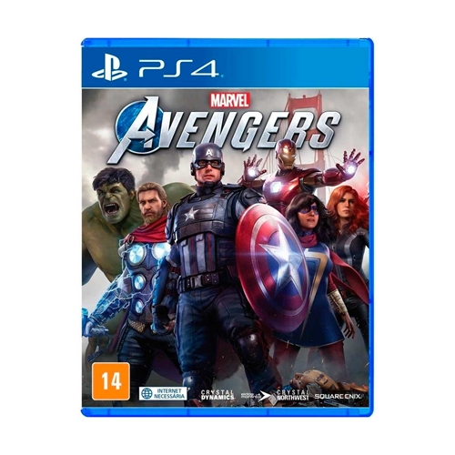 Jogo Marvel Avengers - Playstation 4 - Square Enix