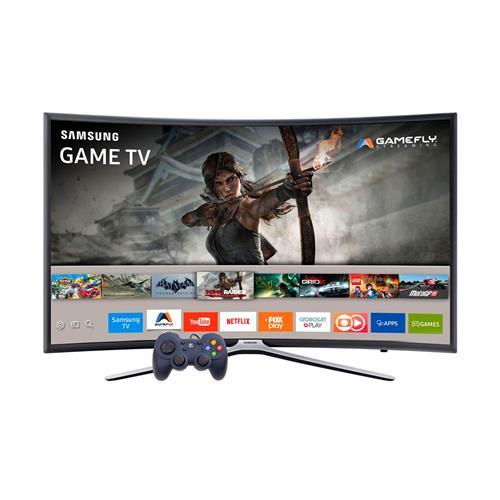 Smart TV Tela Curva LED Full HD Samsung K6500A Game TV com Wi-Fi, USB e Motion Rate