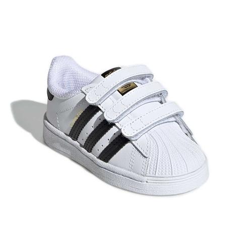 emocional Me gusta morfina  Tênis Adidas Superstar Infantil com Velcro