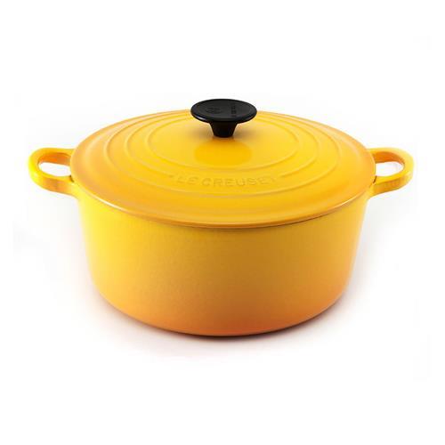 Panela Redonda Le Creuset Amarelo Dijon