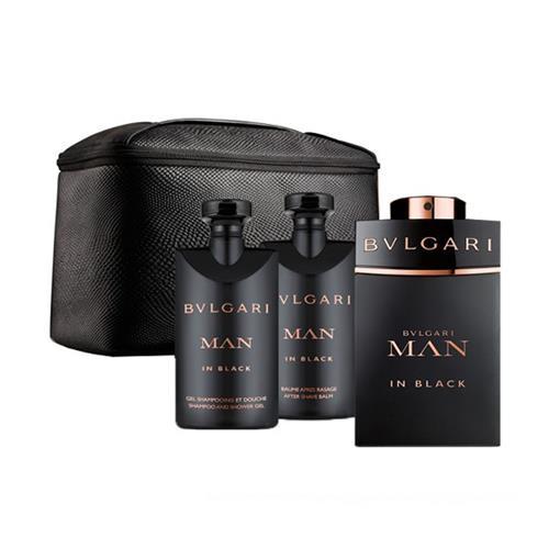a79dce7f23b Coffret Bvlgari Man in Black Masculino - Eau de Parfum 100 ml + Gel de Banho