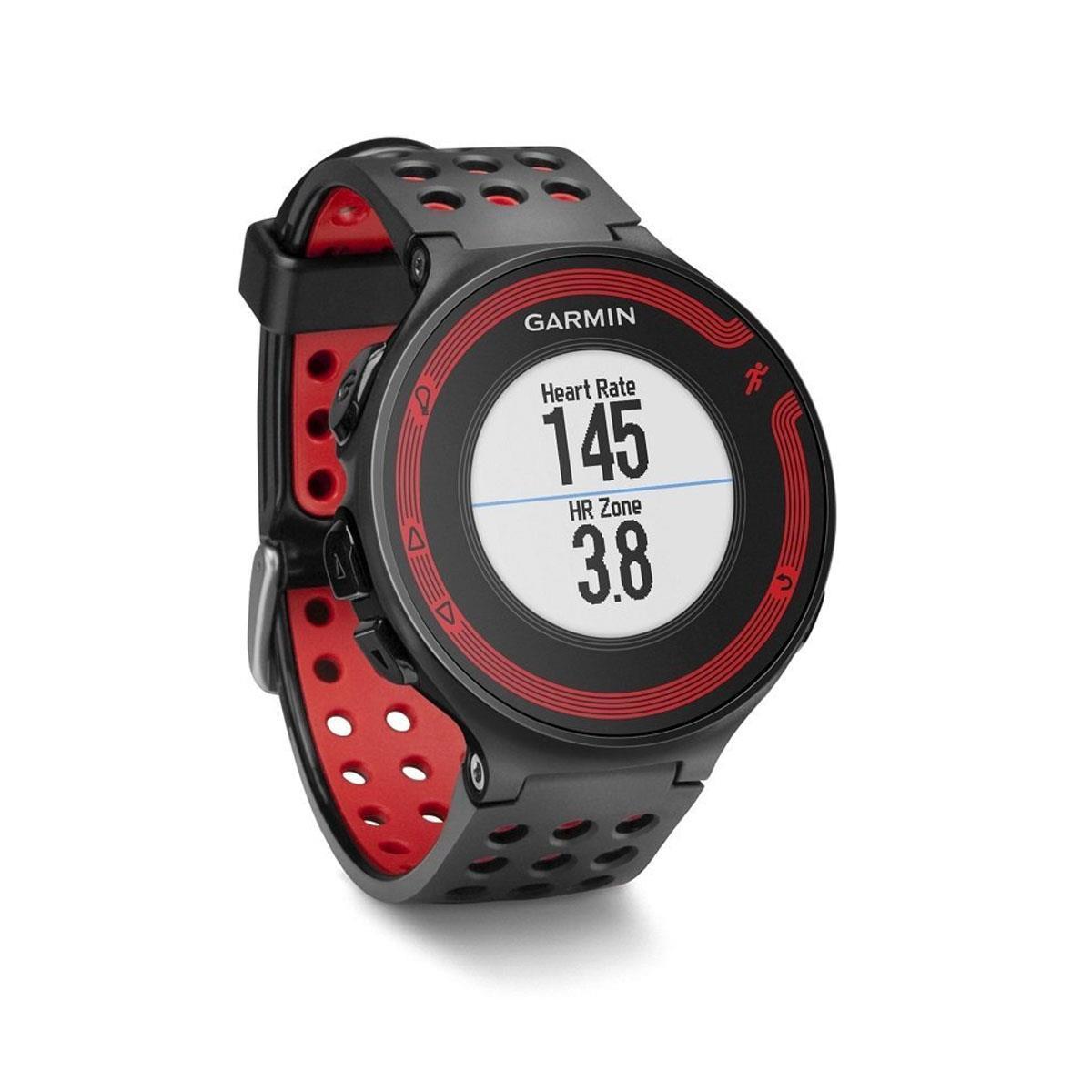 48a5062ca07 Relógio de Corrida Garmin Forerunner 220 com GPS e Medidor de Distância  Masculino Vermelho e Preto
