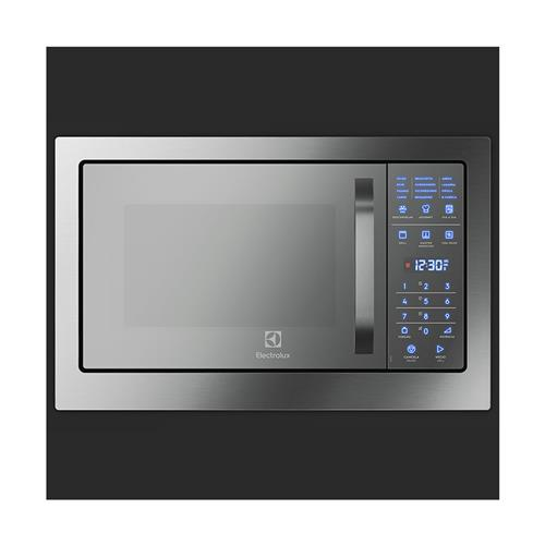 Micro-ondas de Embutir Electrolux MB38T Inox 28 litros, Grill e Painel Blue Touch