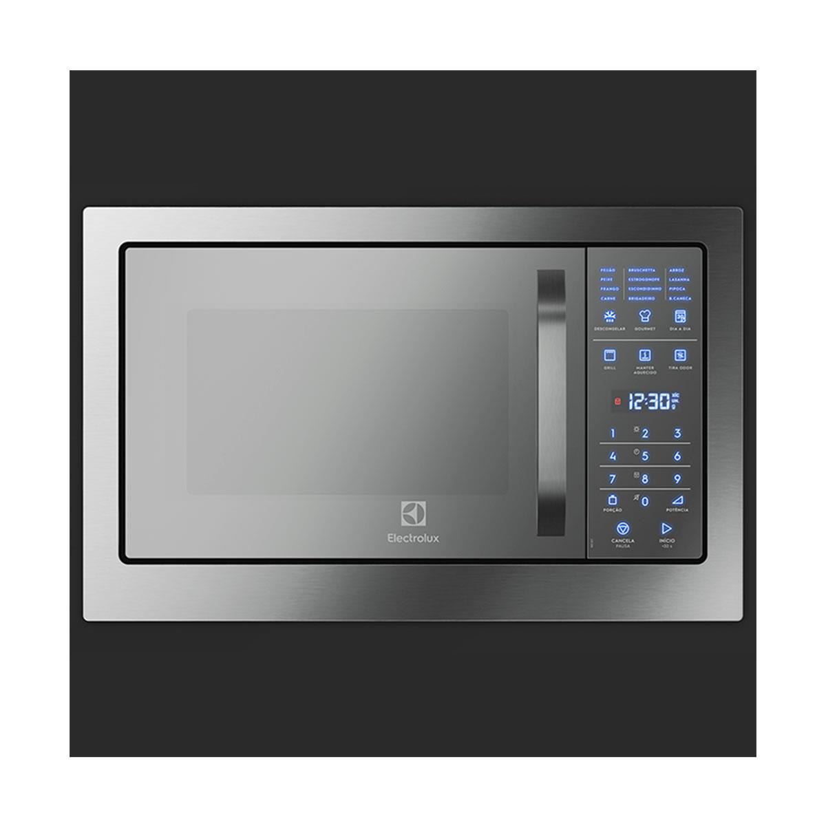Micro Ondas De Embutir Electrolux Mb38t 28 Litros Grill E Painel